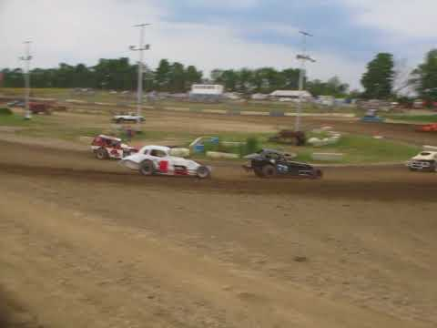 START OF HEAT RACE AT SKYLINE RACEWAY 7-14-18