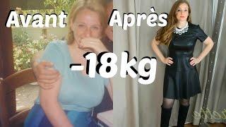 MA PERTE DE POIDS -18 kg