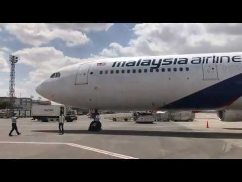 Malaysia Airlines Repatriation flight to Cairo, Egypt