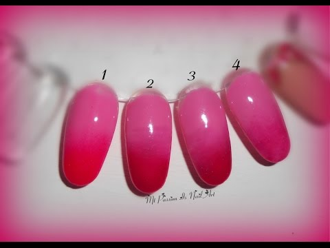 Sfumatura orizzontale in gel/semipermanenti - 4 metodi alternativi! - tutorial shade nails