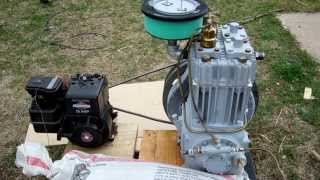 Testing Quincy 325 ROC 10 Air Compressor