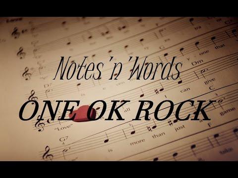 One Ok Rock - Notes'n'Words (Lyrics) (sub español)
