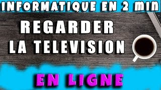 Regarder la TV en ligne en direct #AlloOrdi