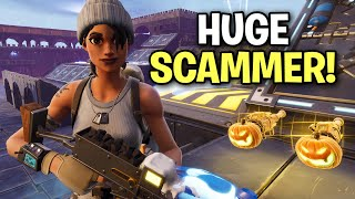 Biggest Liar Ever just tried to scam me! 😆 (Scammer Get Scammed) Fortnite Save The World