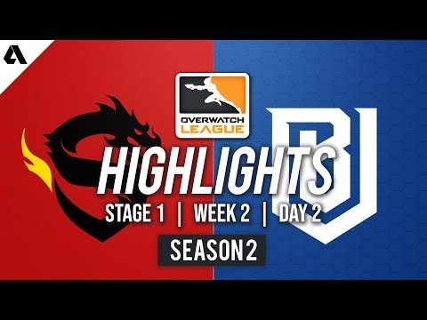 Shanghai Dragons vs Boston Uprising | Overwatch League S2 Highlights - Stage 1 Week 2 Day 2