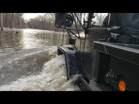 2019 Flood. Cedar Falls Iowa
