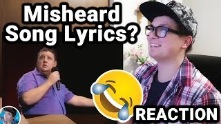 Peter Kay's Misheard Song Lyrics (REACTION)