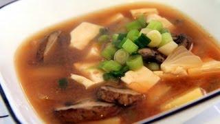 Doenjang Jjigae (soup) - Korean Recipe - Cookingwithalia - Episode 213