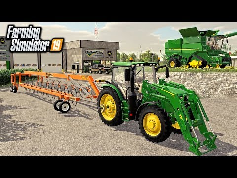 FIRST SALE AT DEERE COUNTRY! CATTLE RANCHER SPENT BIG MONEY (ROLEPLAY) | FARMING SIMULATOR 2019