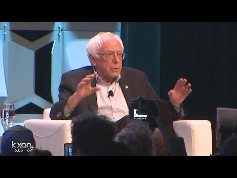 Senator Bernie Sanders makes first SXSW appearance