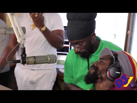 96.1WEFM - Sizzla and Cocoa Tea in Studio with Tweez, Kimber