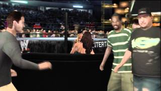 Smackdown vs Raw 2008 - Women's Championship - Ashley vs Melina