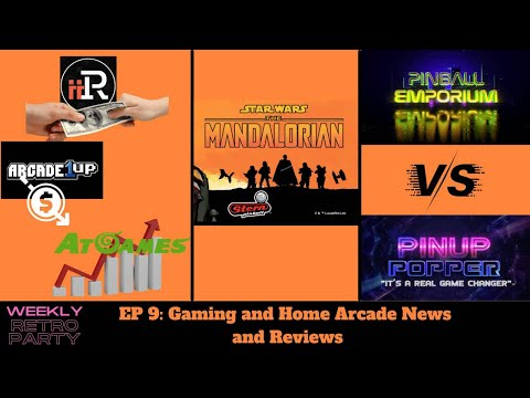 Weekly Retro Party Ep9: iiRcade, Arcade1up and Atgames news. New pinball and more. from Ur Average Gamer