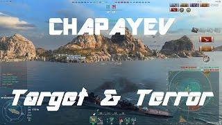 Chapayev - Target & Terror Of T8 [156k damage]