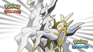 Pokémon Diamond & Pearl - VS Arceus (ORAS Style)