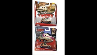 Disney Cars Every Release of Tubbs Pacer