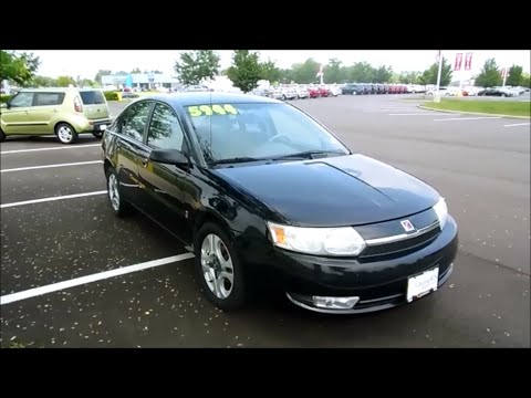 2003 Saturn Ion (Level 3) Start Up and Full Tour