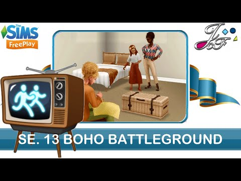 Sims FreePlay 🌵📺🐪 SIMCHASE 13 | BOHO BATTLEGROUND | (Early Access)🔑