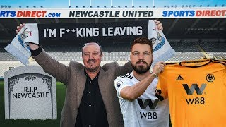 Gambar cover RAFA BENITEZ LEAVES NEWCASTLE UNITED!!! (RANT)