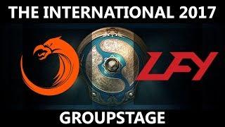 TNC vs LFY GAME 2, The International 2017, LFY vs TNC