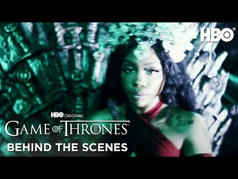 """""""Power Is Power"""" BTS With The Weeknd, SZA And Travis Scott   Game Of Thrones   HBO"""