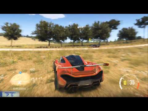 Forza Horizon 2. Coche abandonado Montellino Bajo.