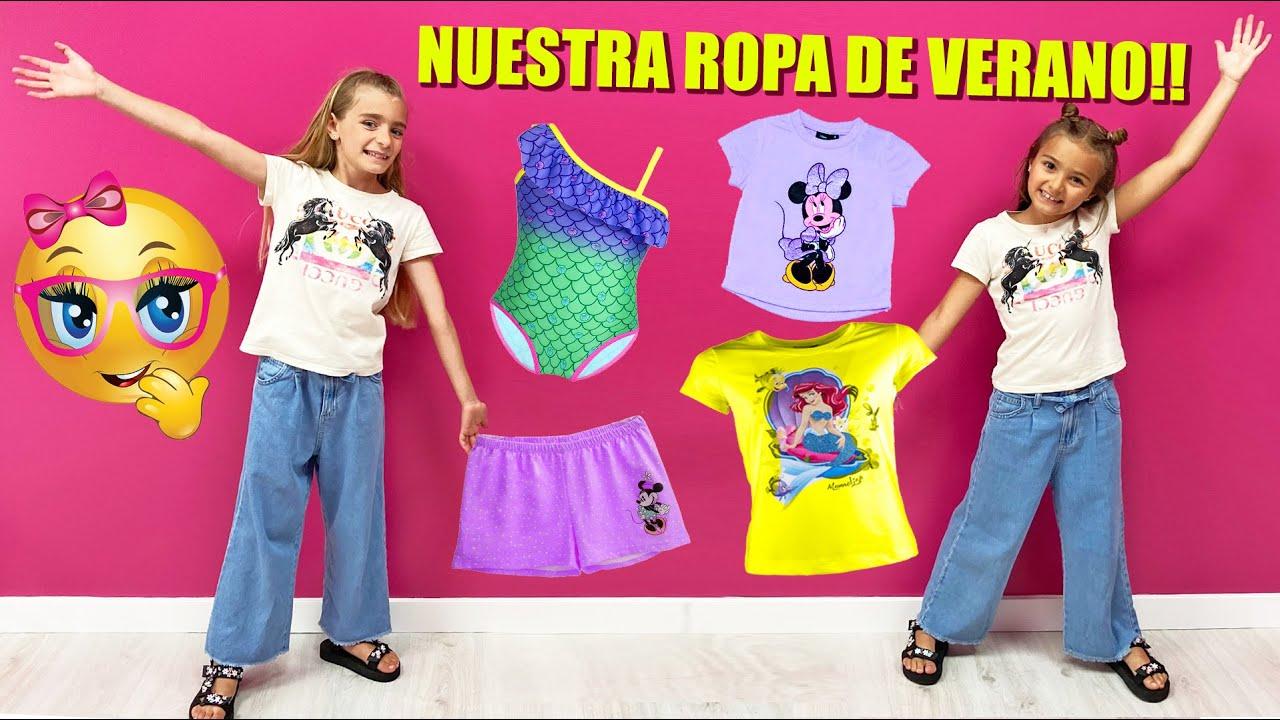 NUESTRA ROPA DE VERANO HAUL 2020 de Las Ratitas Gisele y Claudia