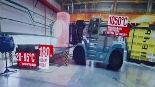 Vr видео 360 тур по заводу ЧТПЗ в виртуальной реальности