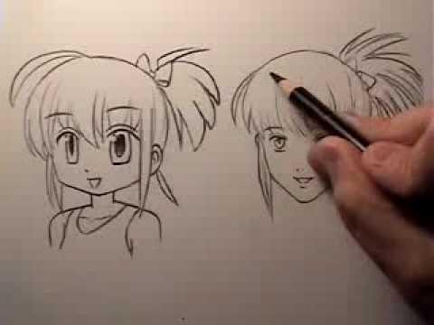 manga face tutorial cartoony