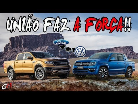 FORD E VOLKS JUNTAS! NOVOS FIAT STRADA, SANDERO E TRACKER 2020!