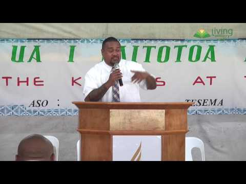 Pr Meshac Soli - Youth Tent Morning Devotional - Day 2 (Tues)