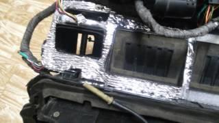 Ремонт авто климата BMW E34 ч.6