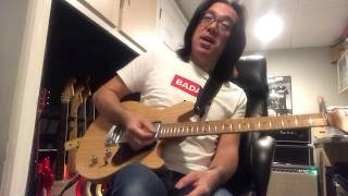 Tomo Fujita Guitar Lesson #7 / Making blues phrase from melody
