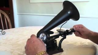 Gakken Premium Gramophone Phonograph (Recording)