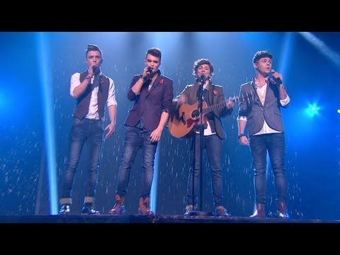 Union J sing Taylor Swift's Love Story - Live Week 5 - The X Factor UK 2012