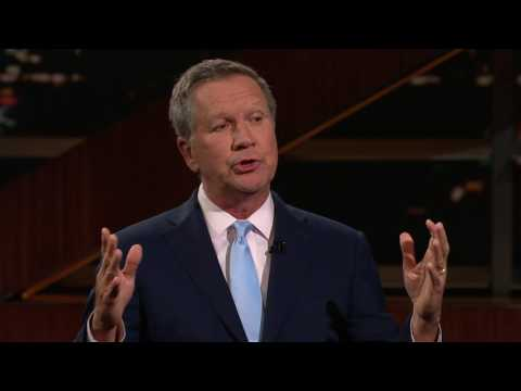 John Kasich: Redefining Republican   Real Time with Bill Maher (HBO)