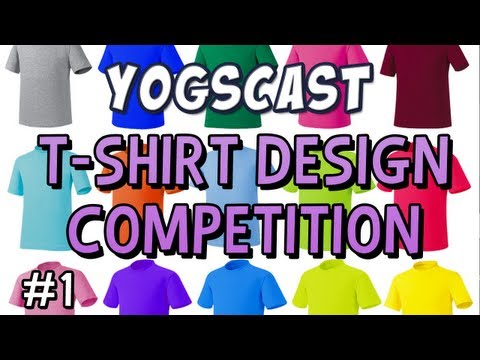 Yogscast T-Shirt Competition Results Part 1 !