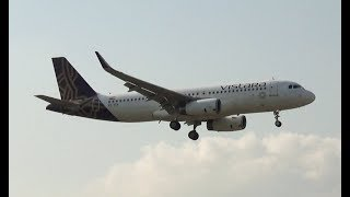 India's 5 Star Airline - Vistara landing in Mumbai