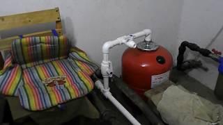 переделка открытой системы отопления в закрытую.Необходимые приборы контроля и безопасности