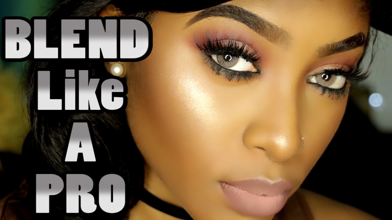 BLEND Your Makeup Like A PRO | Tips & Demo | PETITE-SUE DIVINITII - YouTube