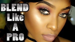 BLEND Your Makeup Like A PRO | Tips & Demo