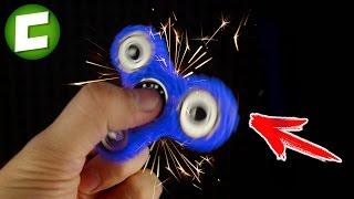 УЛЕТНЫЙ СПИННЕР НАРИСОВАННЫЙ 3D Ручкой. Самодельный АНТИСТРЕСС FIDGET SPINNER