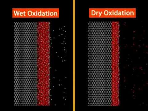 Wet vs. Dry Oxidation Processes