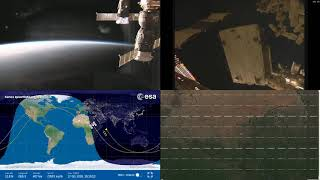 Evening Africa - NASA/ESA ISS LIVE Space Station With Map - 214 - 2018-10-17