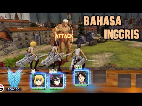 Ternyata Seperti Ini ! - Attack On Titan: Assault (Android)