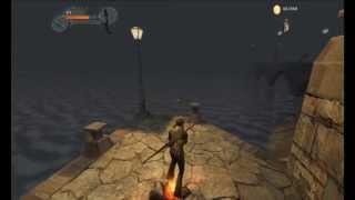 Gameplay do jogo Enclave- The Crazy Of World