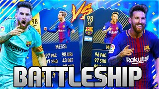 FIFA 18: FIRST OWNER MESSI TOTS vs MESSI TOTY BATTLESHIP WAGER ft. Gamerbrother