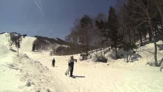 GALA sessionスノーボード 14.4.15 gopro SHOJIFILMS