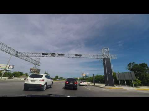 Drive from Punta Cana airport to Bavaro - Dominican Republic Dec 2015