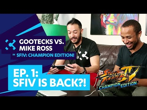 SF4 is BACK?! Gootecks vs. Mike Ross in SFIV: CHAMPION EDITION! Ep. 1 (Sponsored) - 동영상